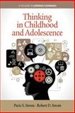 Thinking in Childhood and Adolescence, Paris S. Strom and Robert D. Strom, 1623964334