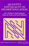 Quantity and Quality in Higher Education, Radford, John, 1853024333