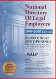 National Directory of Legal Employers 1999-2000 Edition 9780159004340