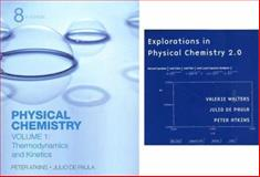 Physical Chemistry Volume 1 and Explorations in Physical Chemistry Access Card, Atkins, Peter and Walters, Valerie, 0716774348