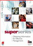 Obtaining Information for Effective Management Super Series, , 0080464343