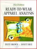 Ready-to-Wear Apparel Analysis, Brown, Patty and Rice, Janett, 0130254347