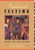 Psychological Testing : Theory and Applications, Janda, Louis H., 0205194346