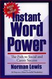 Instant Word Power, Norman Lewis, 0884864340