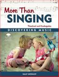 More Than Singing, Sally Moomaw, 1884834345