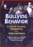 Bullying Behavior : Current Issues, Research, and Interventions, Corinna Young, Marti T Loring, 0789014351