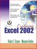 Exploring Microsoft Excel 2002, Grauer, Robert T. and Barber, Maryann, 0130924350