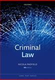 Criminal Law, Padfield, Nicola, 0199644357
