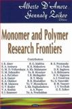 Monomer and Polymers Research Frontiers : Trends in Biochemical Physics Research, D'Amore, Alberto and Zaikov, Gennadii Efremovich, 1600214355