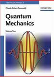 Quantum Mechanics, Cohen-Tannoudji, Claude and Laloe, Frank, 0471164356