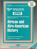 African and Afro-American History, Rudman, Jack, 0837354366