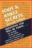 Foot and Ankle Secrets, Harkless, Lawrence B. and Felder-Johnson, Kim, 1560534362