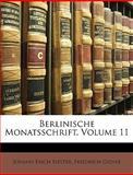 Berlinische Monatsschrift, Johann Erich Biester and Friedrich Gedike, 1148094369