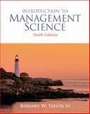 Introduction to Management Science, Taylor, Bernard W., 0136064361