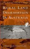 Rural Land Degradation, Conacher, Jeanette, 0195534360