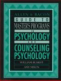 Allyn and Bacon Guide to Master's Programs in Psychology and Counseling Psychology, Buskist, William and Mixon, Amy, 0205274366