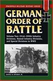 German Order of Battle, Samuel W. Mitcham, 0811734374