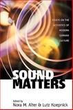 Sound Matters, Alter, 157181437X