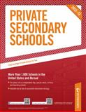 Private Secondary Schools 2012-13, Peterson's Publishing Staff, 0768934370