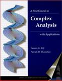 A First Course in Complex Analysis with Applications, Zill, Dennis G. and Shanahan, Patrick, 0763714372