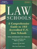 Law Schools 2001, Peterson's Guides Staff, 0768904374