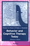 Behavior and Cognitive Therapy Today : Essays in Honor of Hans J. Eysenck, European Association for Behavioral and Cognitive Therapies. Congress, 0080434371