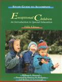 Exceptional Children, Heward, William L., 0133754375