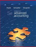 Fundamentals of Advanced Accounting with Connect Plus, Hoyle, Joe Ben and Schaefer, Thomas, 0077924371