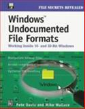 Windows Undocumented File Formats 9780879304379