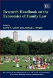 Research Handbook on the Economics of Family Law, Lloyd R. Cohen and Joshua D. Wright, 1848444370