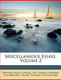 Miscellaneous Essays, Edward B. Cowell and Thomas Edward Colebrooke, 1146174381