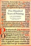 Five Hundred Years of Printing 9780712304382