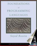 Foundations of Programming Languages : Design and Implementation, Roosta, Seyed H., 0763714380