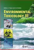 Environmental Toxicology III, V. Popov, C. A. (editors) Brebbia, 1845644387