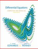 Differential Equations Computing and Modeling, Edwards, C. Henry and Penney, David E., 0136004385
