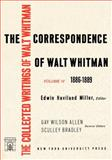 The Correspondence of Walt Whitman, Eric Miller, 0814704387