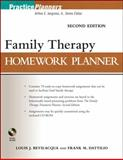 Family Therapy Homework Planner, Bevilacqua, Louis J. and Dattilio, Frank M., 0470504390