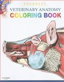 Saunders Veterinary Anatomy Coloring Book, Saunders, 1437714390
