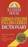 Random House German-English English-German Dictionary, Anne Dahl, 034541439X