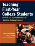 Teaching First-Year College Students, Peters, Calvin B. and Strommer, Diane Weltner, 0787964395