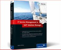 IT Service Management in SAP Solution Manager, Williams, Nathan, 1592294405