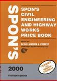 Spon's Civil Engineering and Highway Works Price Book 2000, , 0419254404