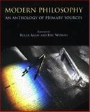 Modern Philosophy : An Anthology of Primary Sources, Roger Ariew, 0872204405