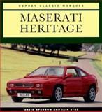Maserati Heritage, Sparrow, David and Ayre, Iain, 1855324415