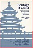 The Heritage of China, Ropp, Paul S., 0520064410