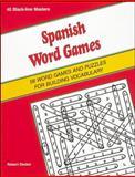 Spanish Word Games, Robert Decker, 0844274410