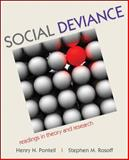 Social Deviance : Readings in Theory and Research, Pontell, Henry and Rosoff, Stephen M., 0073404411