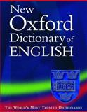 The New Oxford Dictionary of English 9780198604419