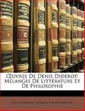 Uvres de Denis Diderot, Denis Diderot and Jacques André Naigeon, 1142404420