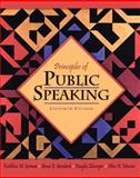 Principles of Public Speaking, German, Kathleen M. and Gronbeck, Bruce E., 0205494420